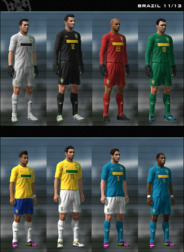 Brazil 11/12 Kit Set by Dark Nero