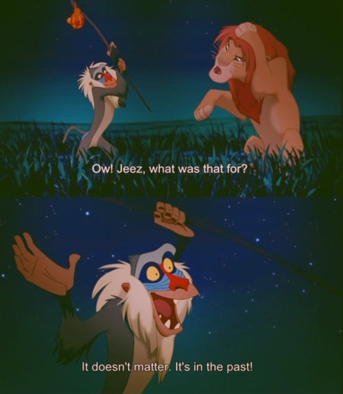 Lion King - It Doesn't Matter - It's In The Past
