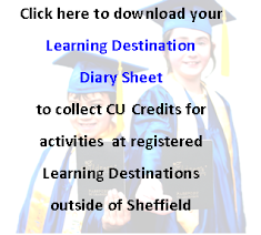 Learning Destination Diary Sheet