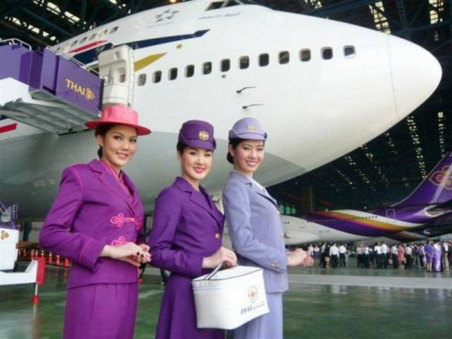 31Thailand252CThaiAirwaysAirHostess - Air Hostess From Different Countries