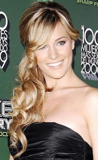 Formal Half up Long Curly Hairstyles 2013