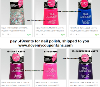 Nail Polish for ONLY ONE PENNY.