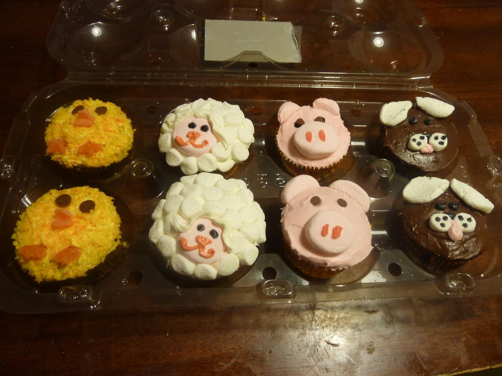 Farm Animals Cupcake Cake Ideas And Designs