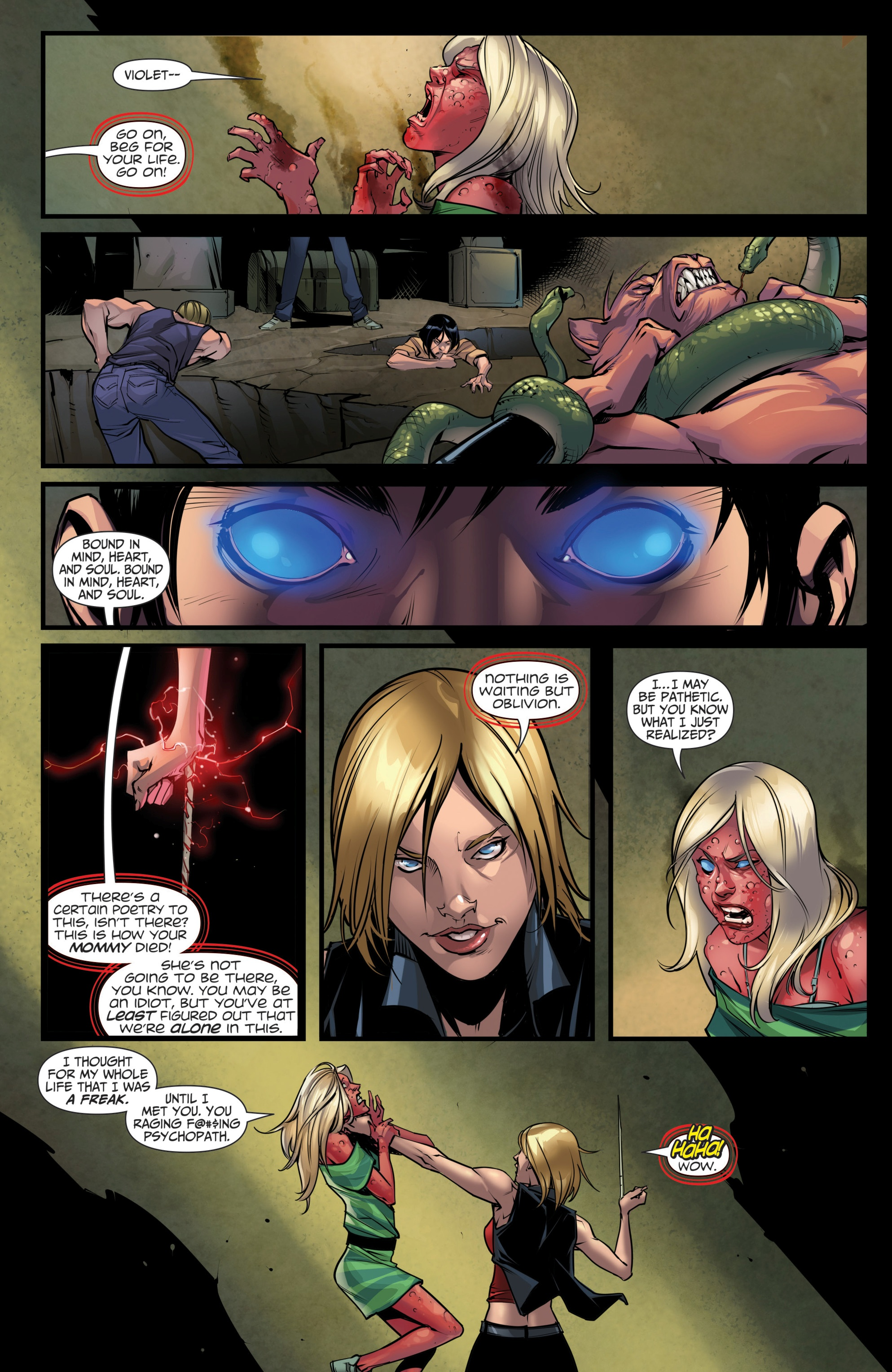 Grimm Fairy Tales (2005) Issue #111 #114 - English 21