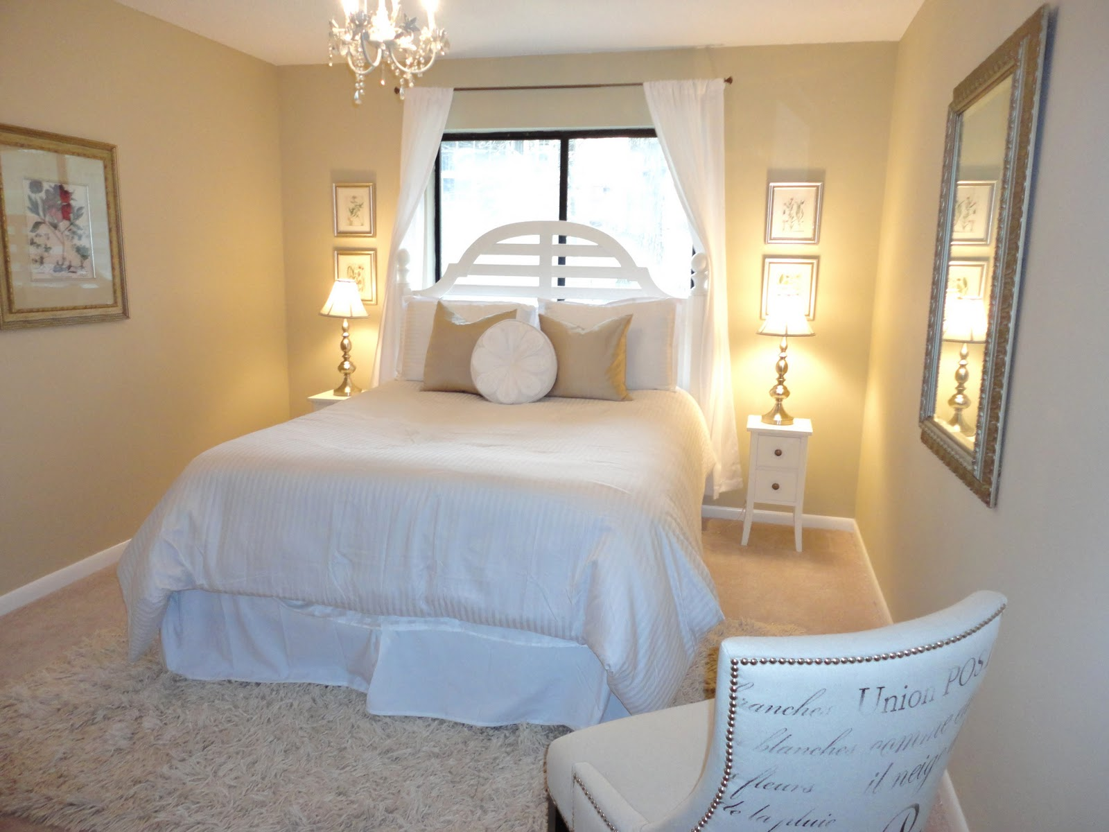 Livelovediy guest bedroom makeover for Great bedroom ideas for small bedrooms
