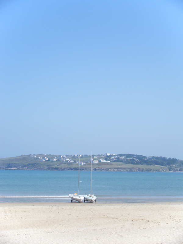 The Camel Estuary viewed from Padstow