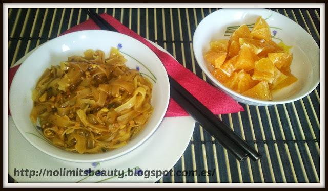 iHerb: Pad Thai Noodles (tamaño)