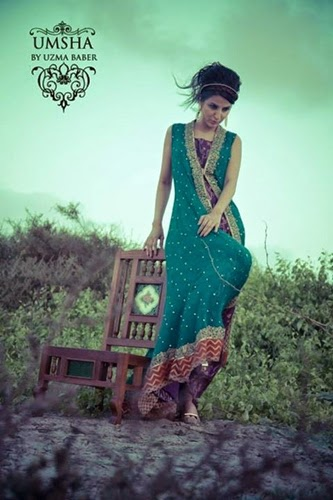 Uzma Babar Formal Wear 2014