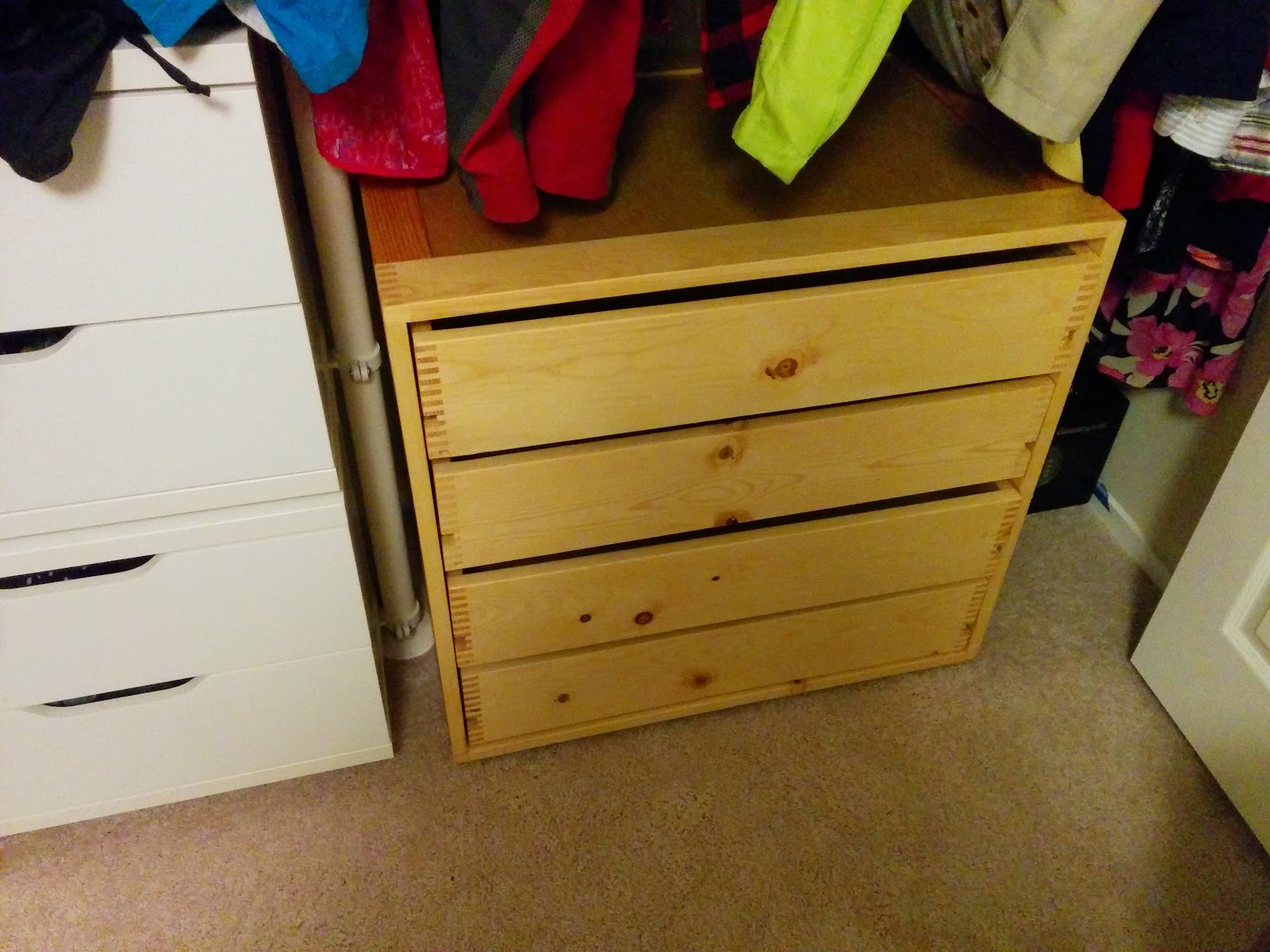 Experience Improve Make My First Real Furniture Closet