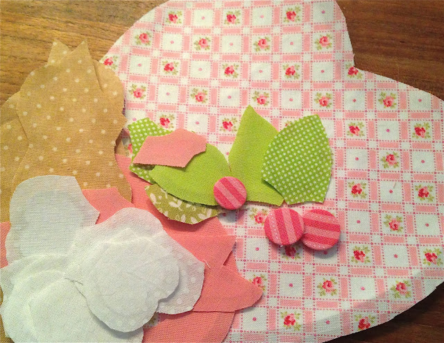 Vintage Valentine quilt pattern and Lakehouse fabrics