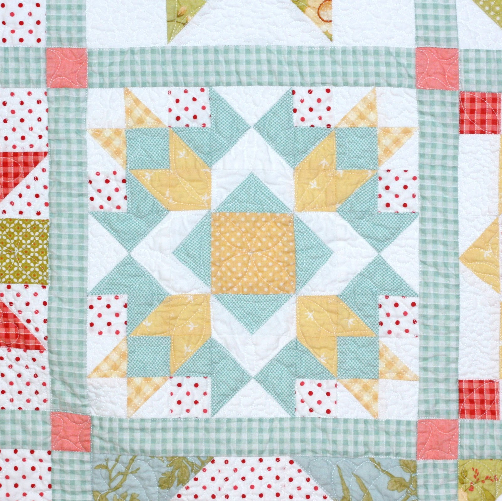 Quilt Pattern With Different Size Blocks : A Little Bit Biased: Around The Block Sampler {Finished}