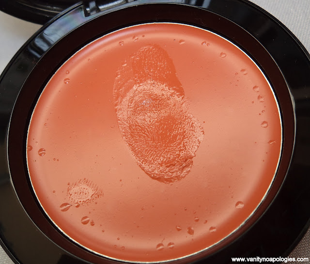 nyx orange cream blush