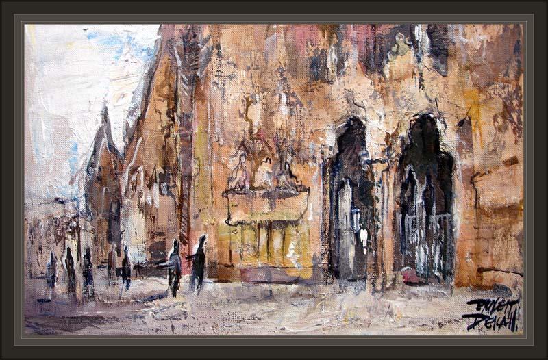 Cuadros ernest descals pinturas sagrada familia barcelona - Trabajo de pintor en barcelona ...