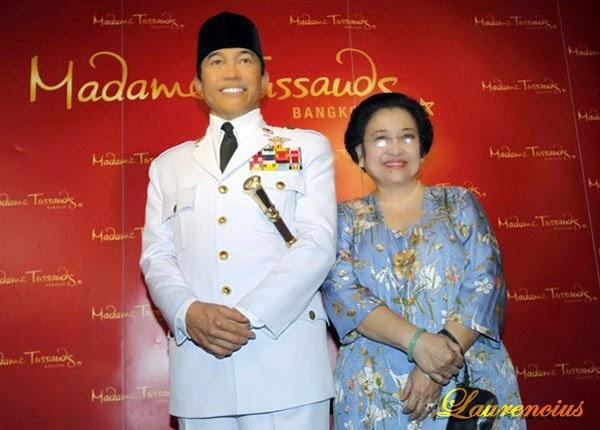 madame tussauds singapore, museum madam tussauds, patung tokoh terkenal, patung artis terkenal, museum patung lilin, soekarno dan megawati