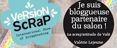 Je suis blogueuse partenaire du salon Version scrap 2013