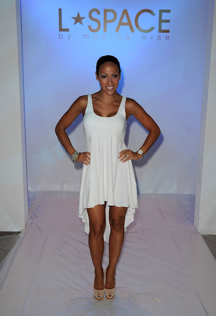 Melissa Gorga (Bravo Real Housewive of New Jersey) at L* Space at MBFWS 2014