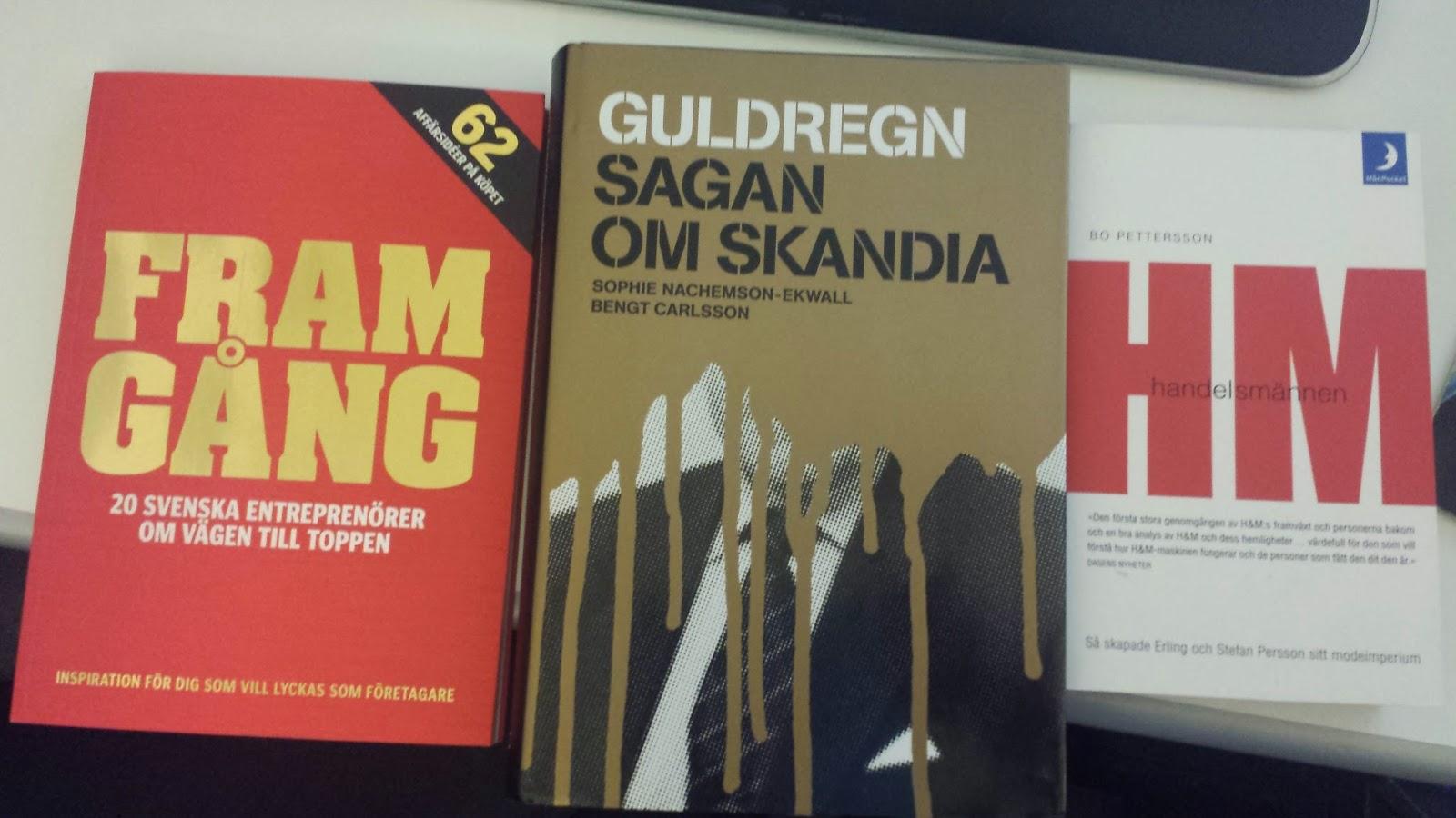 3 nya böcker till samlingen