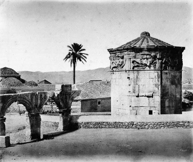 παλιά Αθήνα-παλιές φωτογραφίες της Αθήνας-Αθήνα–Πύργος των Αιόλων-λόγια απλά