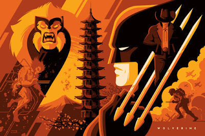 Wolverine Standard Edition Marvel Screen Print by Tom Whalen