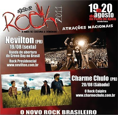 Site do Agosto de Rock