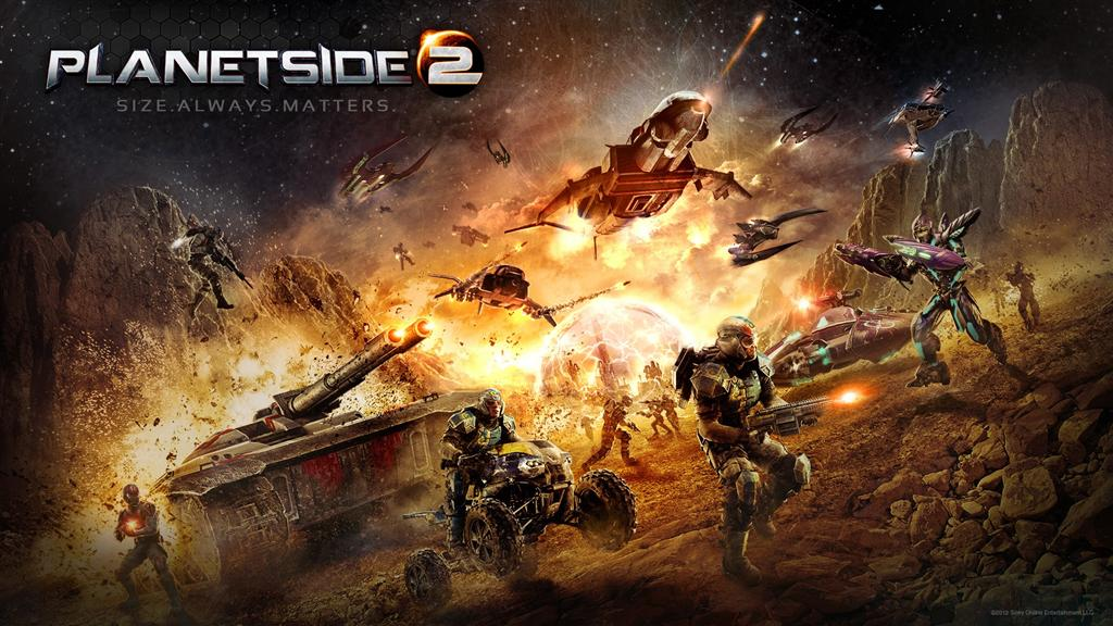 PlanetSide HD & Widescreen Wallpaper 0.0399350534322409