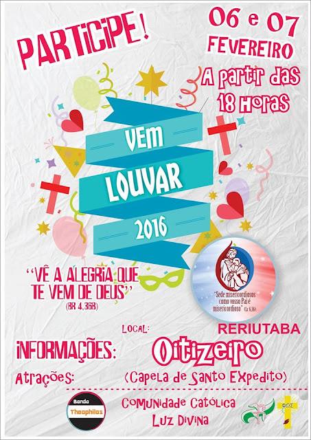 Carnaval com Cristo: Primeiro Vem Louvar em Oitizeiro.