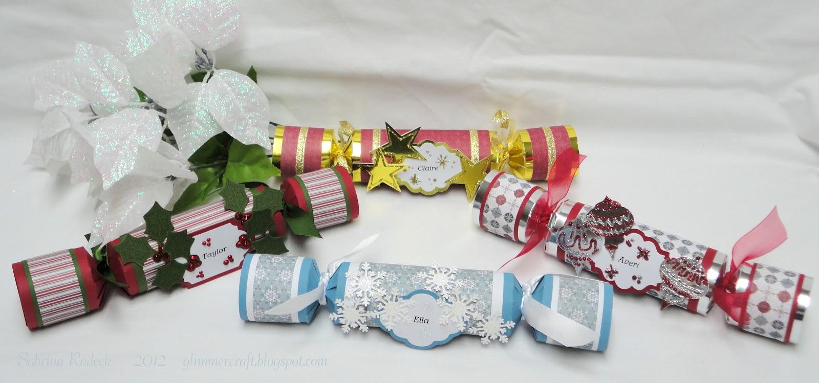 Aspiring To Creativity Christmas Crackers Scrapbook