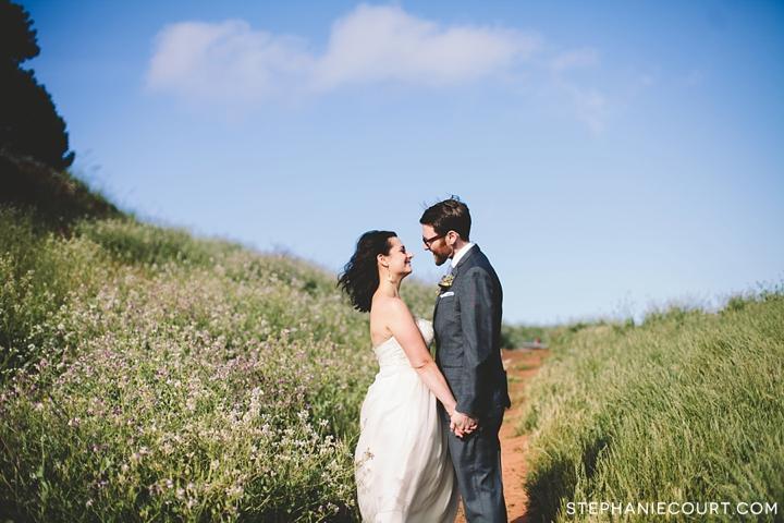 wedding portraits at bernal heights