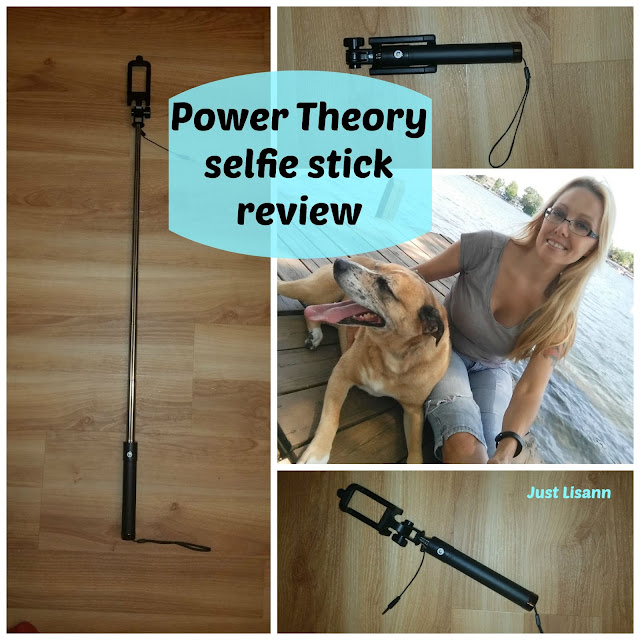 power theory wired selfie stick review