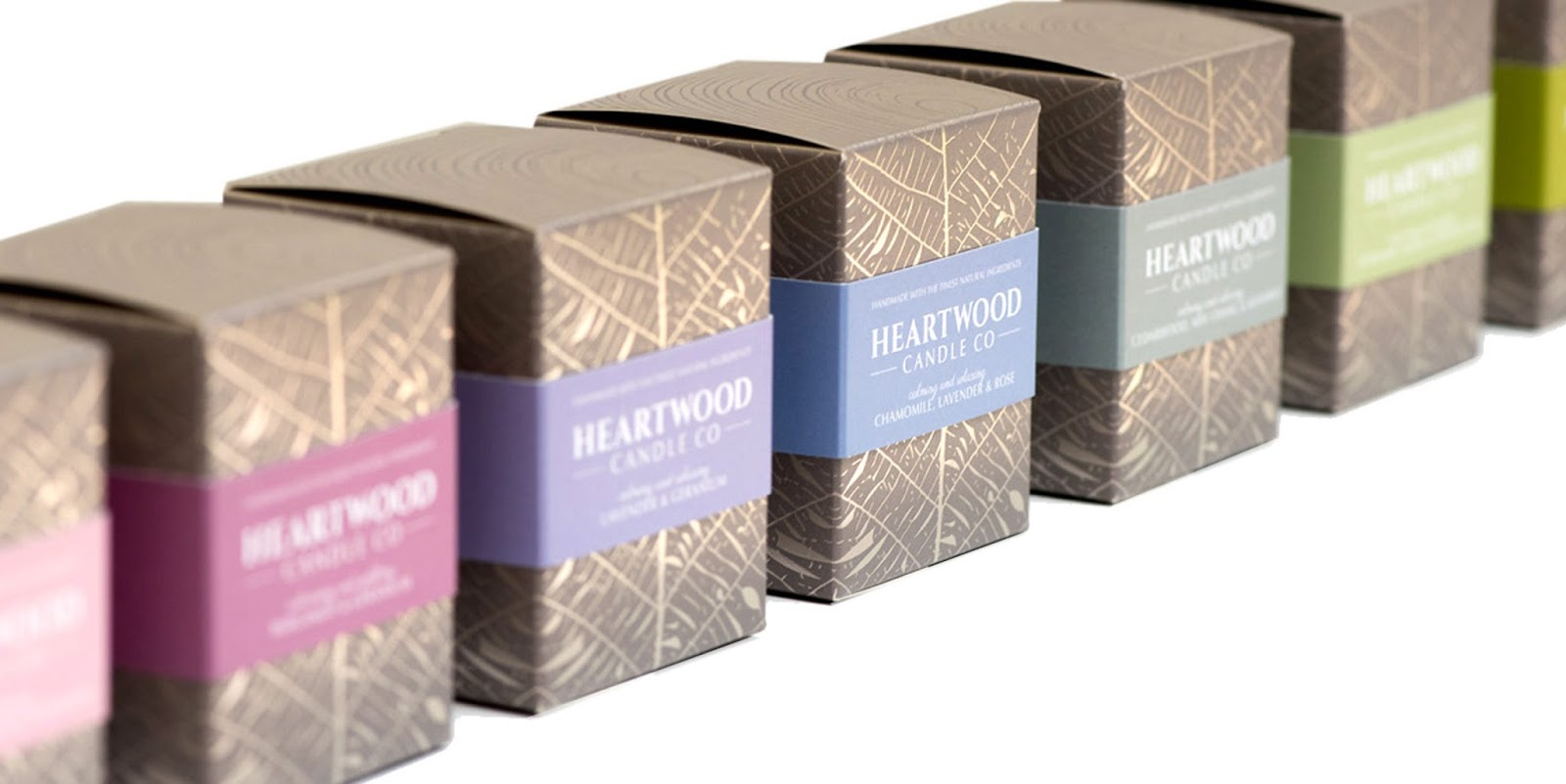 Heartwood Candle On Packaging Of The World Creative