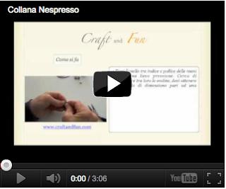 video della collana Nespresso