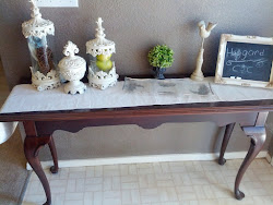 Entry/sofa table- Sold