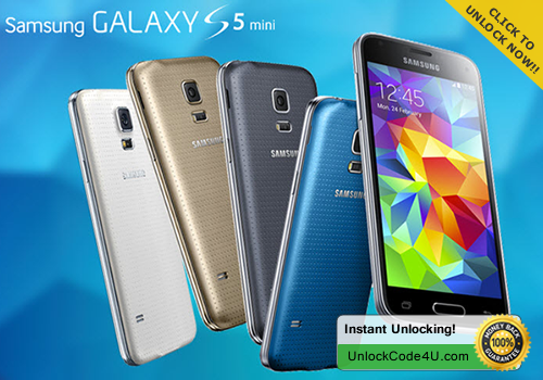 Factory Unlock Code for Samsung Galaxy S5 Mini
