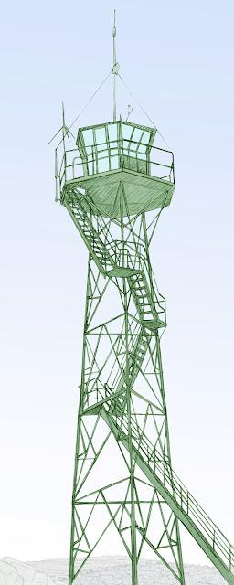 Torre vigia, dibujo