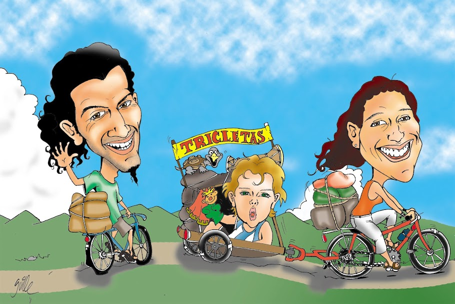 Tricletas (vivir en bicicleta y sobre otras ruedas)
