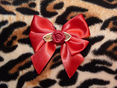 bow & rose haircandy