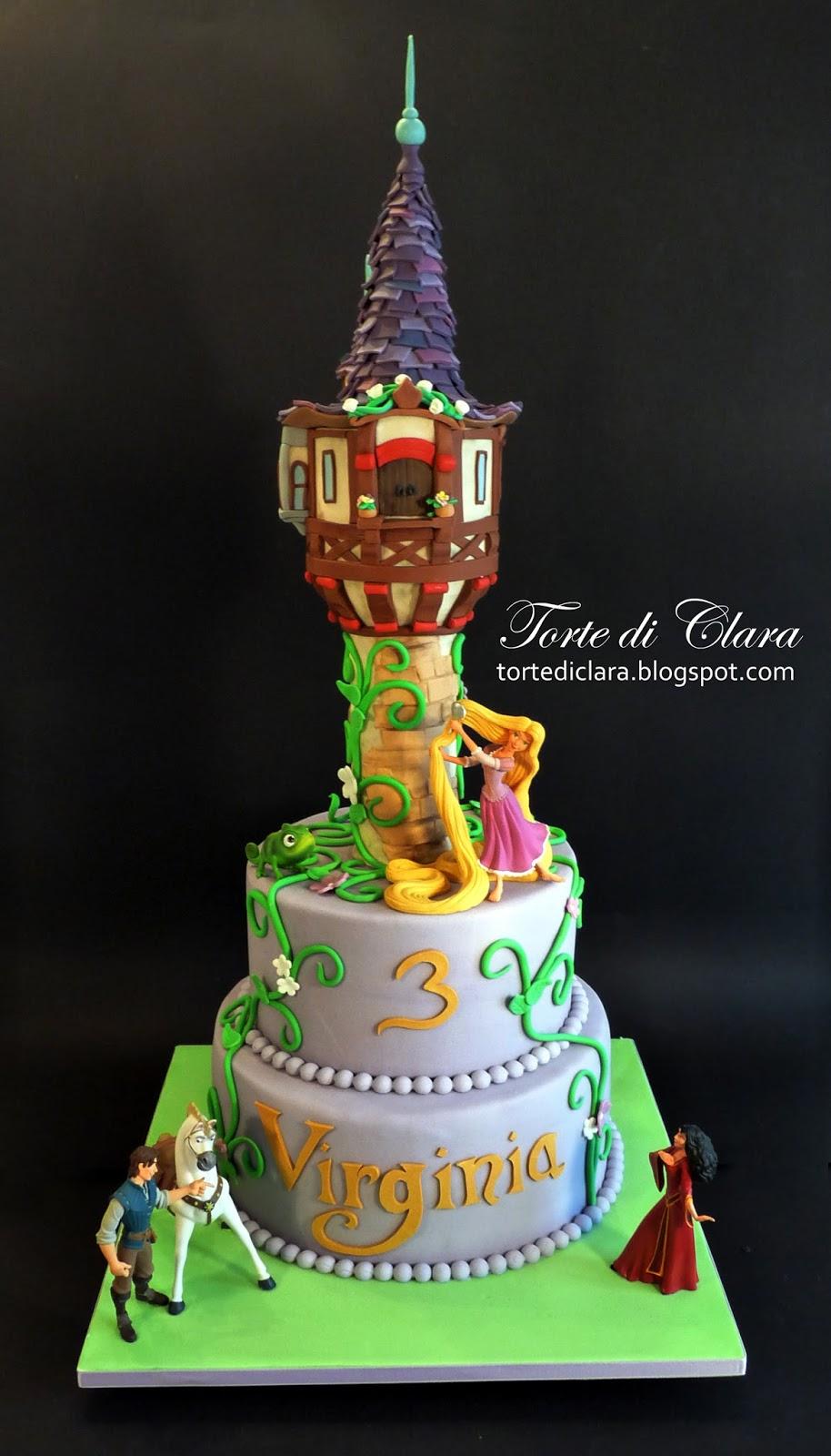 Super Torte di Clara: Rapunzel cake PO02