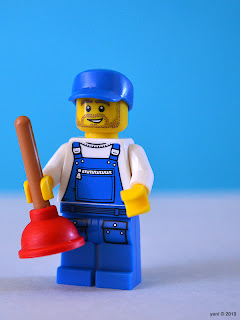 lego plumber - it's more than just remembering that water flows downhill