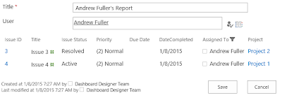 Filter related items by user column on SharePoint form