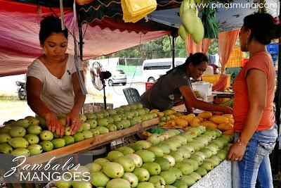 Mango Vendors in Zambales