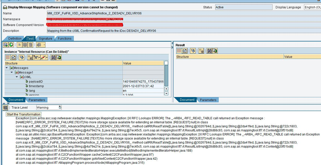 SAP PI Reference Frequent RFC Lookuperrors In Messages Mapping - Sap data mapping