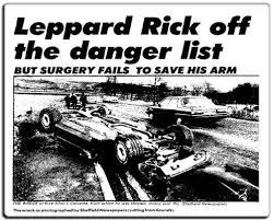 Kecelakaan Mobil Rick Allen