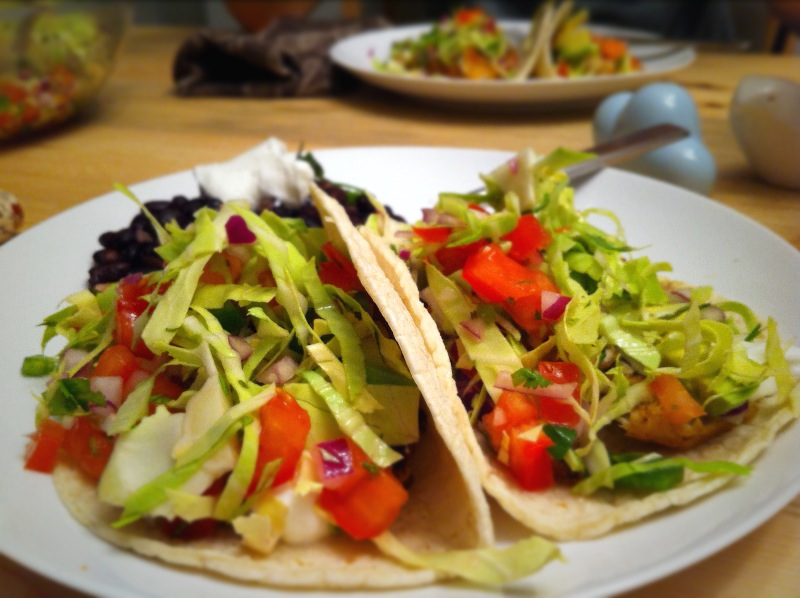 Fish tacos with cabbage salsa sustainable diet for Fish tacos cabbage