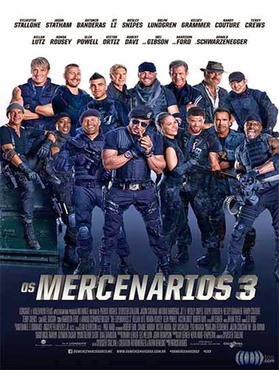 Os Mercenarios 3 AVI 720p DVDScr Legendado + RMVB BDRip Dublado + Bluray 720p e 1080p Dual Audio