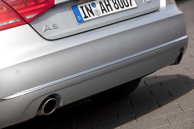 выхлопная труба Audi A8 Hybrid 2012 года