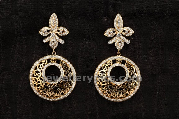 diamond earrings by gaja