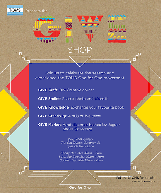 toms give shop flyer