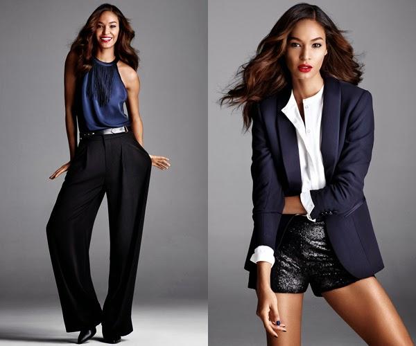 ropa fiesta para Navidad H&M short lentejuelas pantalones