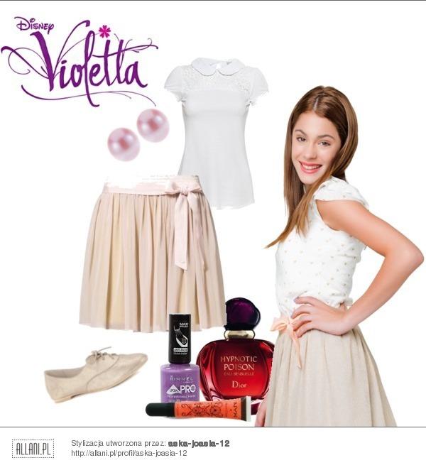 Violetta Martina Upodobnij Si Do Violi