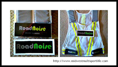 RoadNoise Running Vest Collage